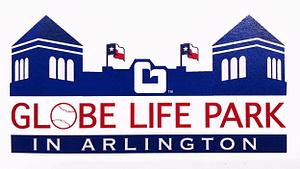 globe life ballpark at Arlington