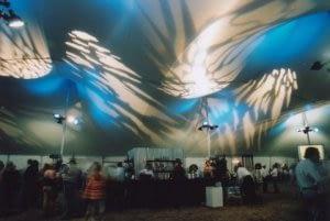 casino tent inside