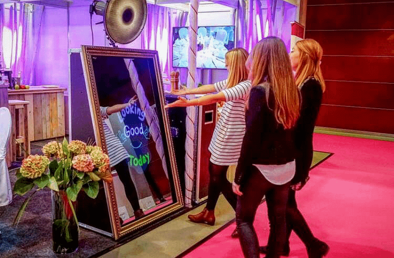 The Magic Mirror Photo Booth